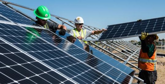 As The Pandemic Tanks Oil And Gas, Solar Shines