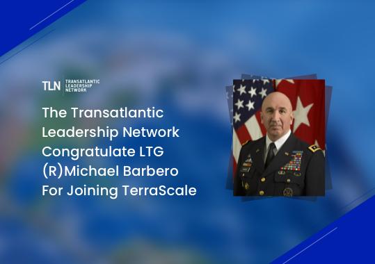 The Transatlantic Leadership Network congratulates Michael Barbero