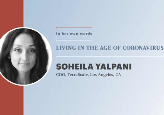In Her Own Words: Soheila Yalpani designs TerraScale for post-pandemic world